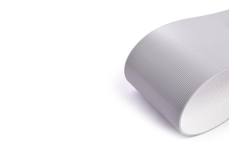 correia PVC perfil frizado para transporte inclinado