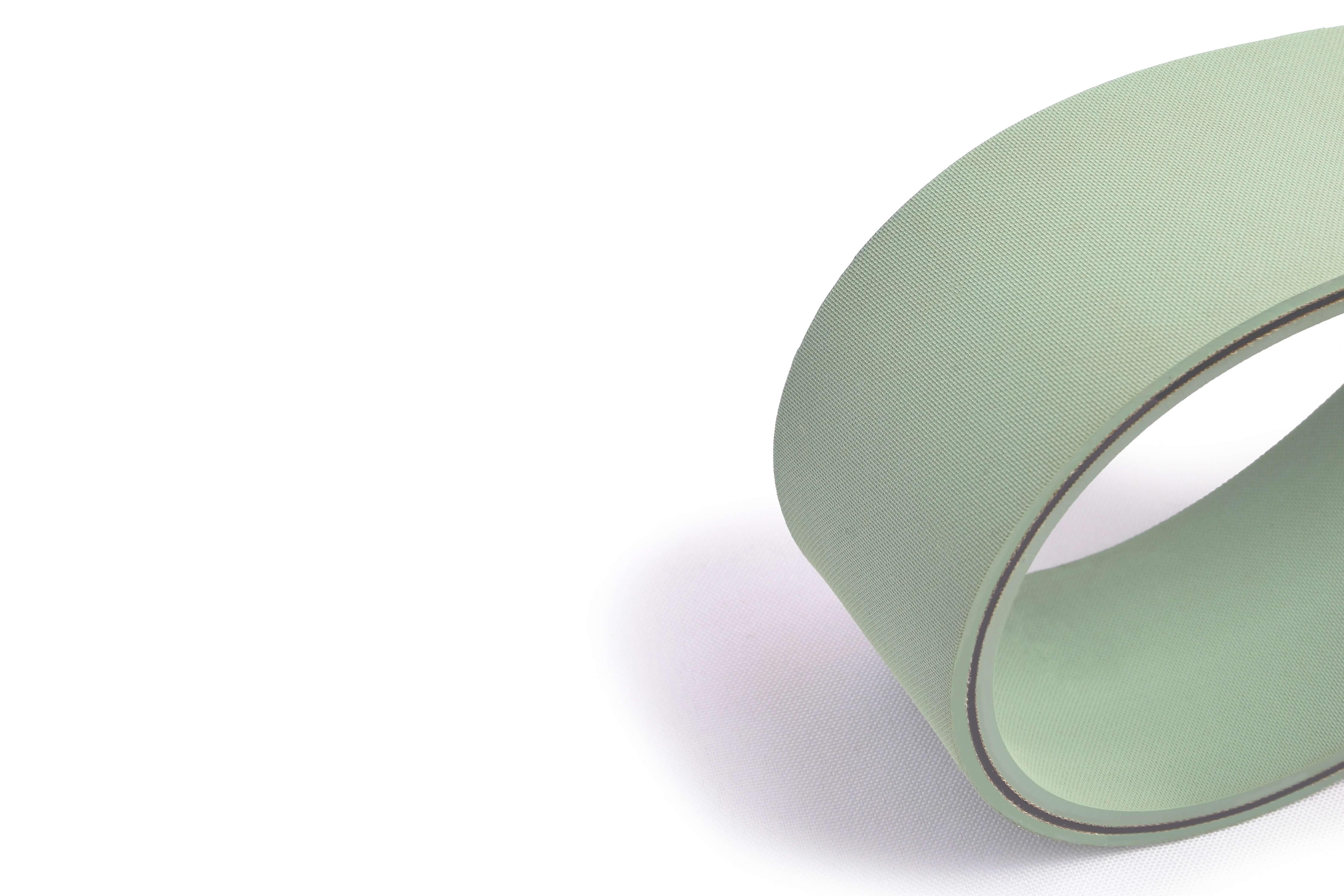correia transmissão plana poliamida (nylon) borracha/borracha tipo CT 60