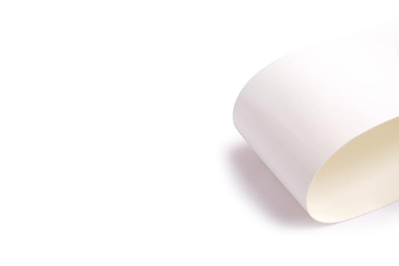 correia sanitária de uma lona em PVC branco