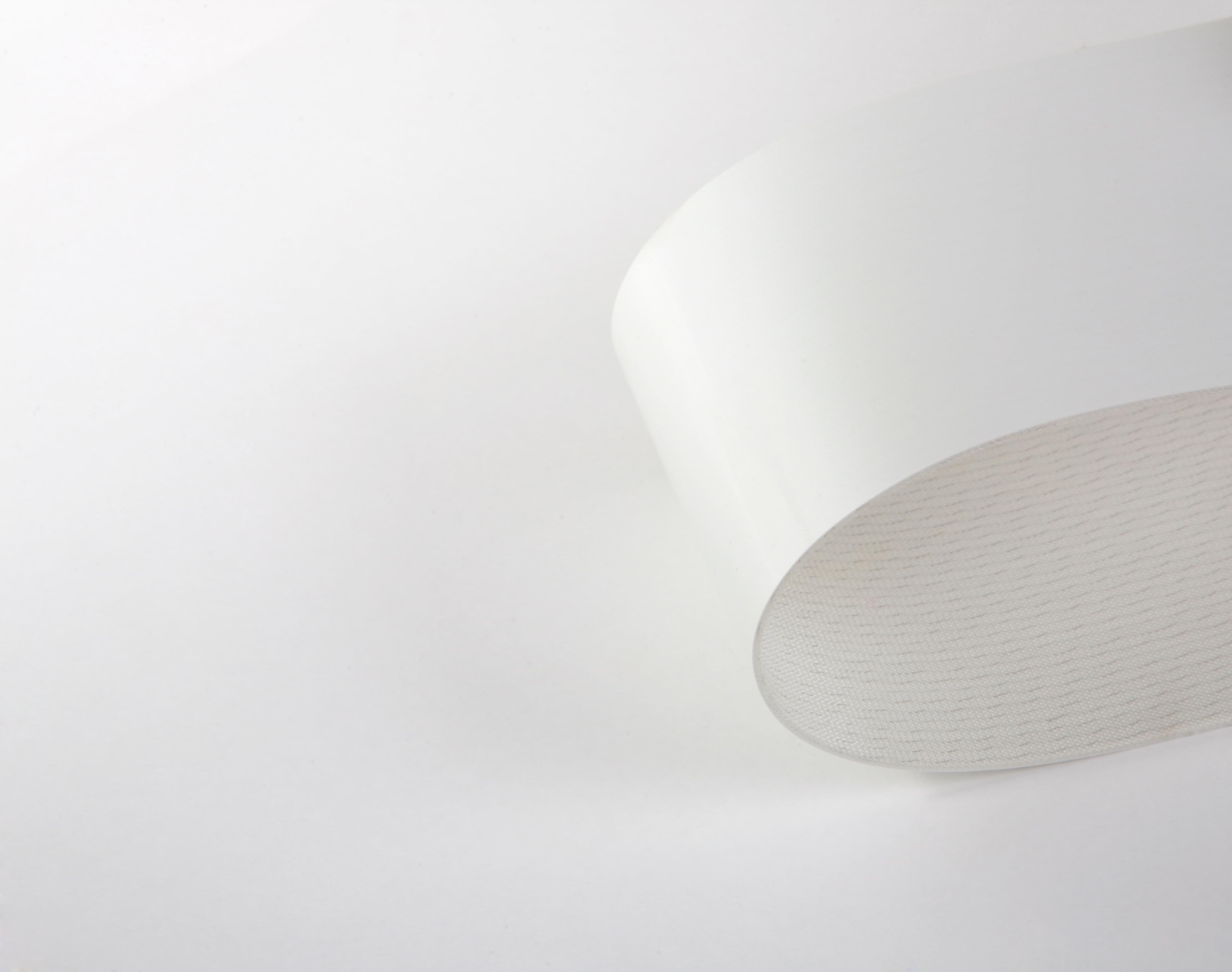 correia Poliuretano (PU) (poliuretano) branco duas lonas
