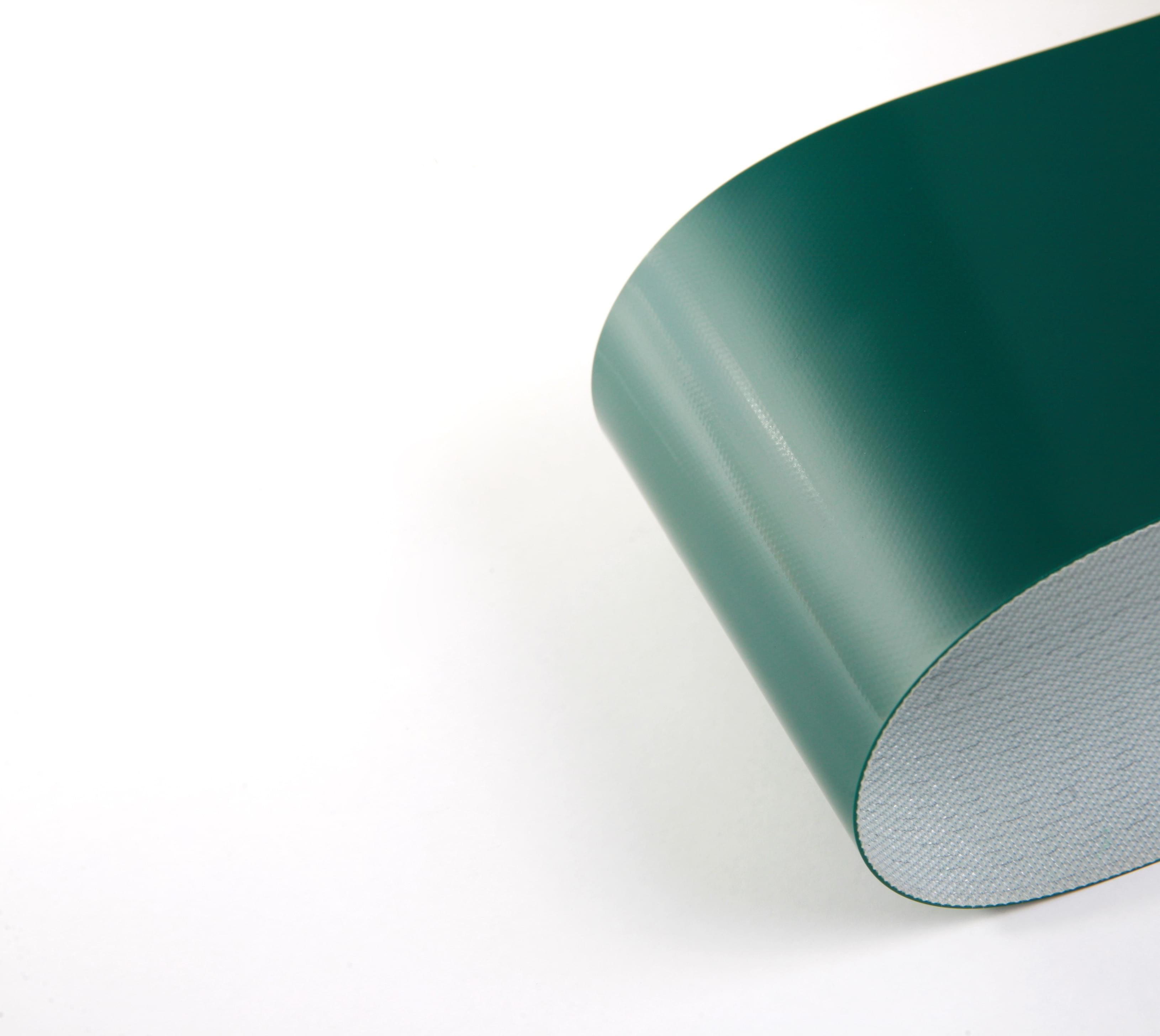 correia de uma lona em PVC verde