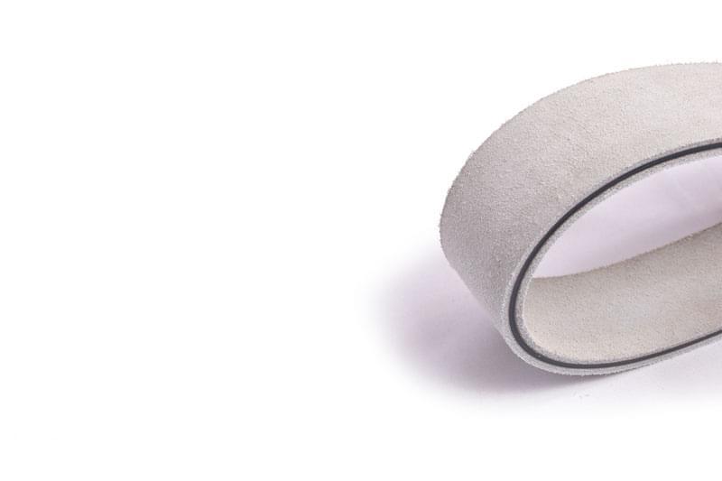 correia transmissão plana poliamida (nylon) couro/couro tipo LL 28