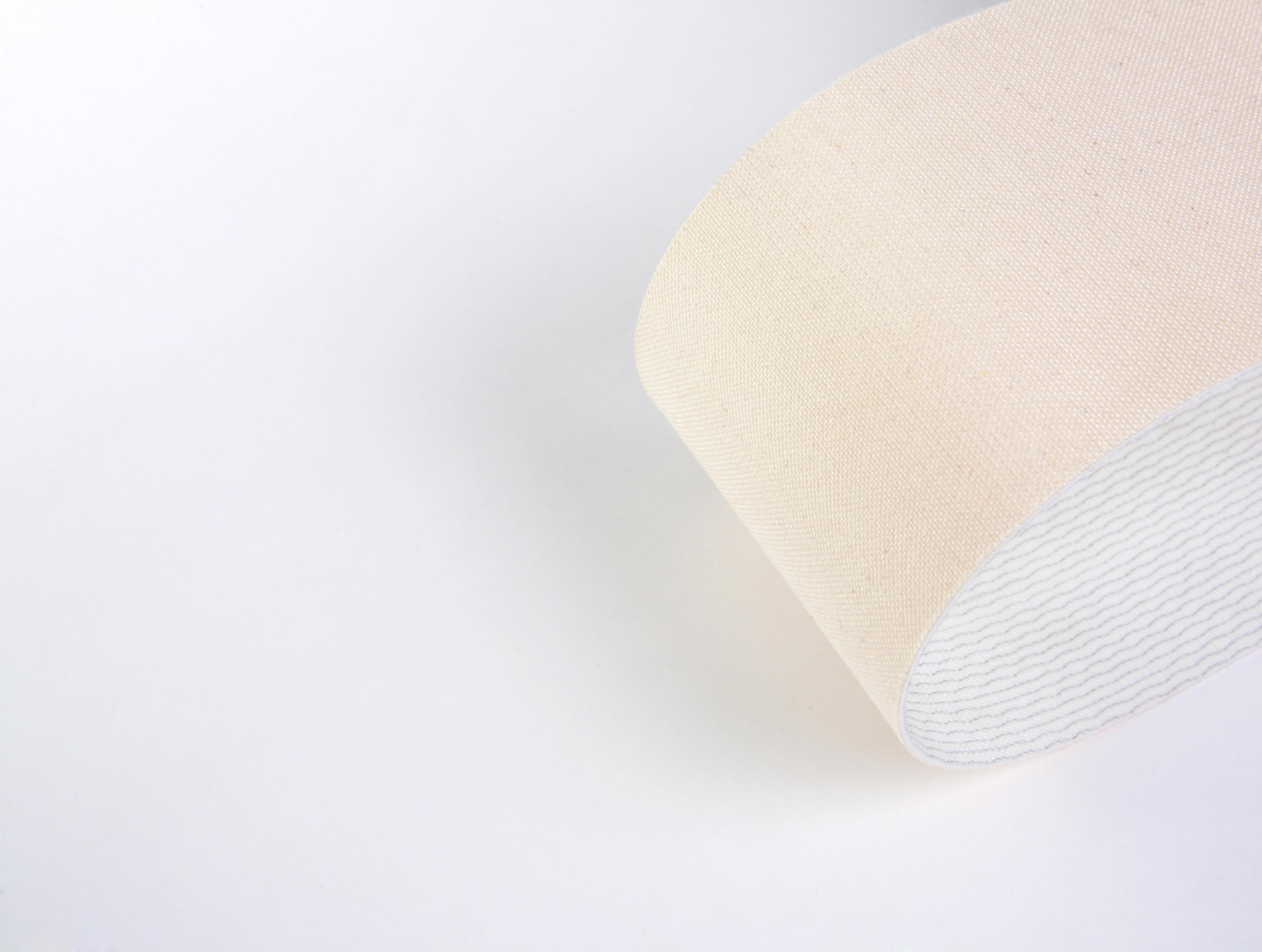 correia PVC duas lonas com tecido superior em algodão