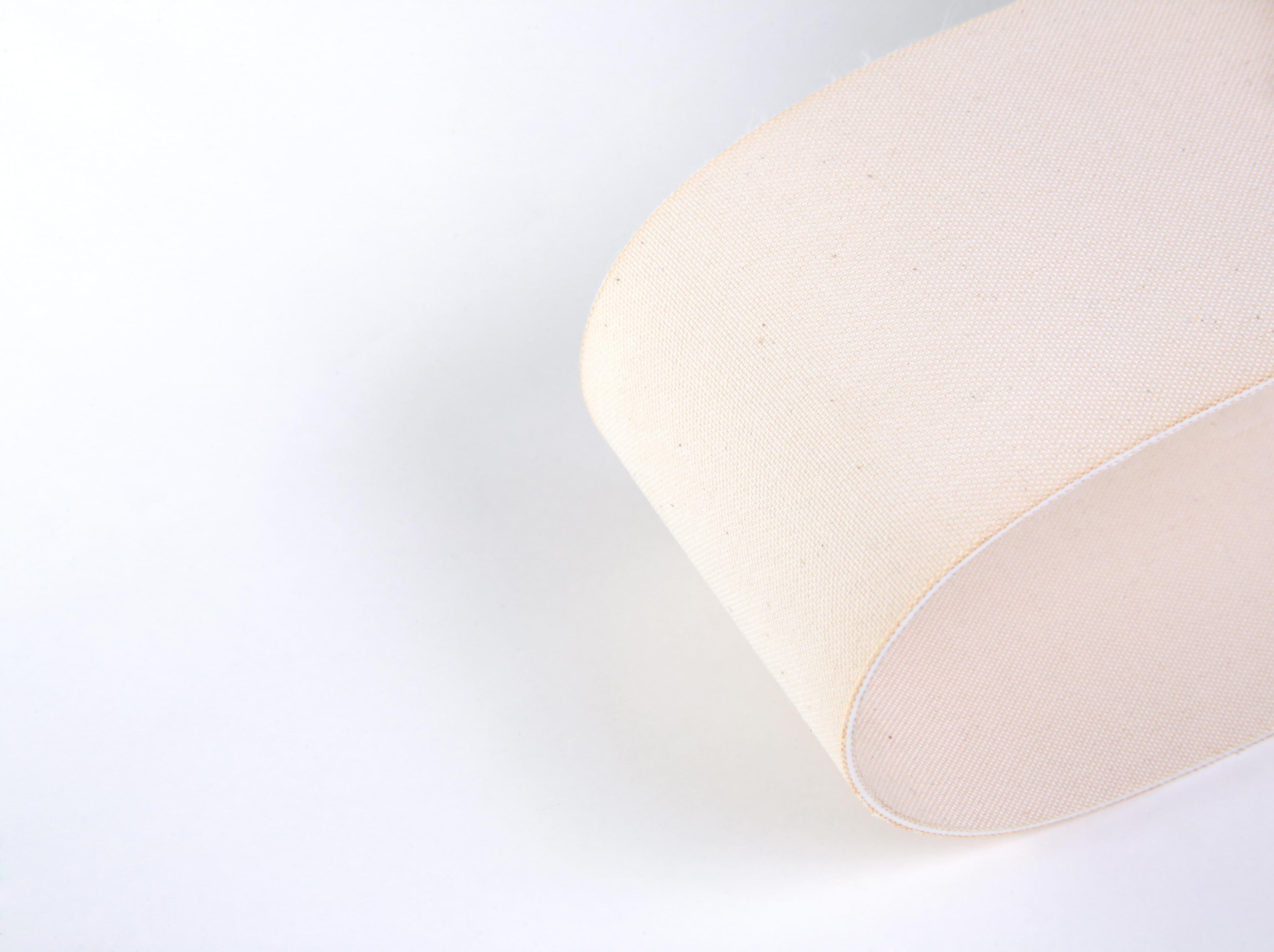 correia PVC com tecidos em algodão