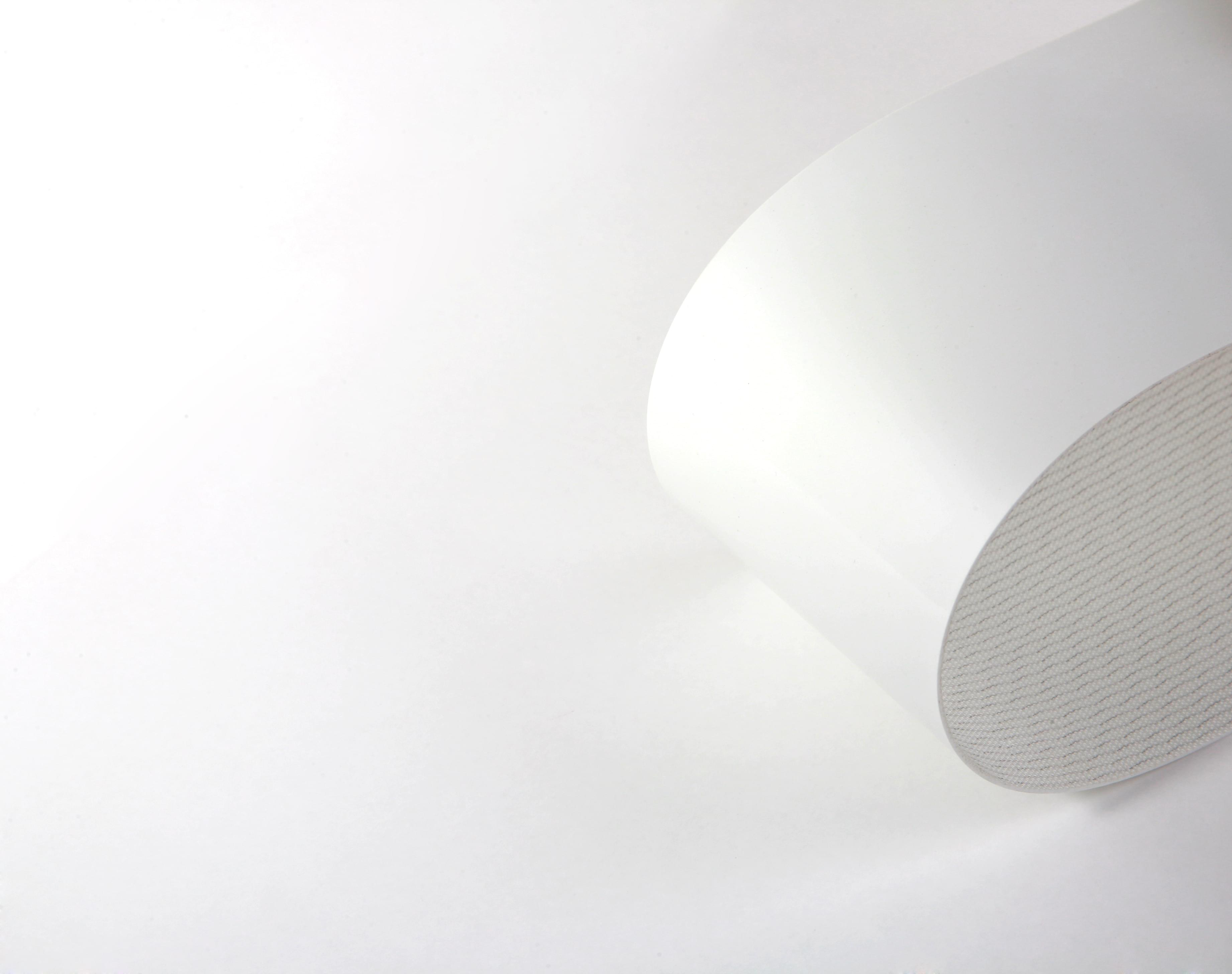 correia Poliuretano (PU) (poliuretano) branco uma lona