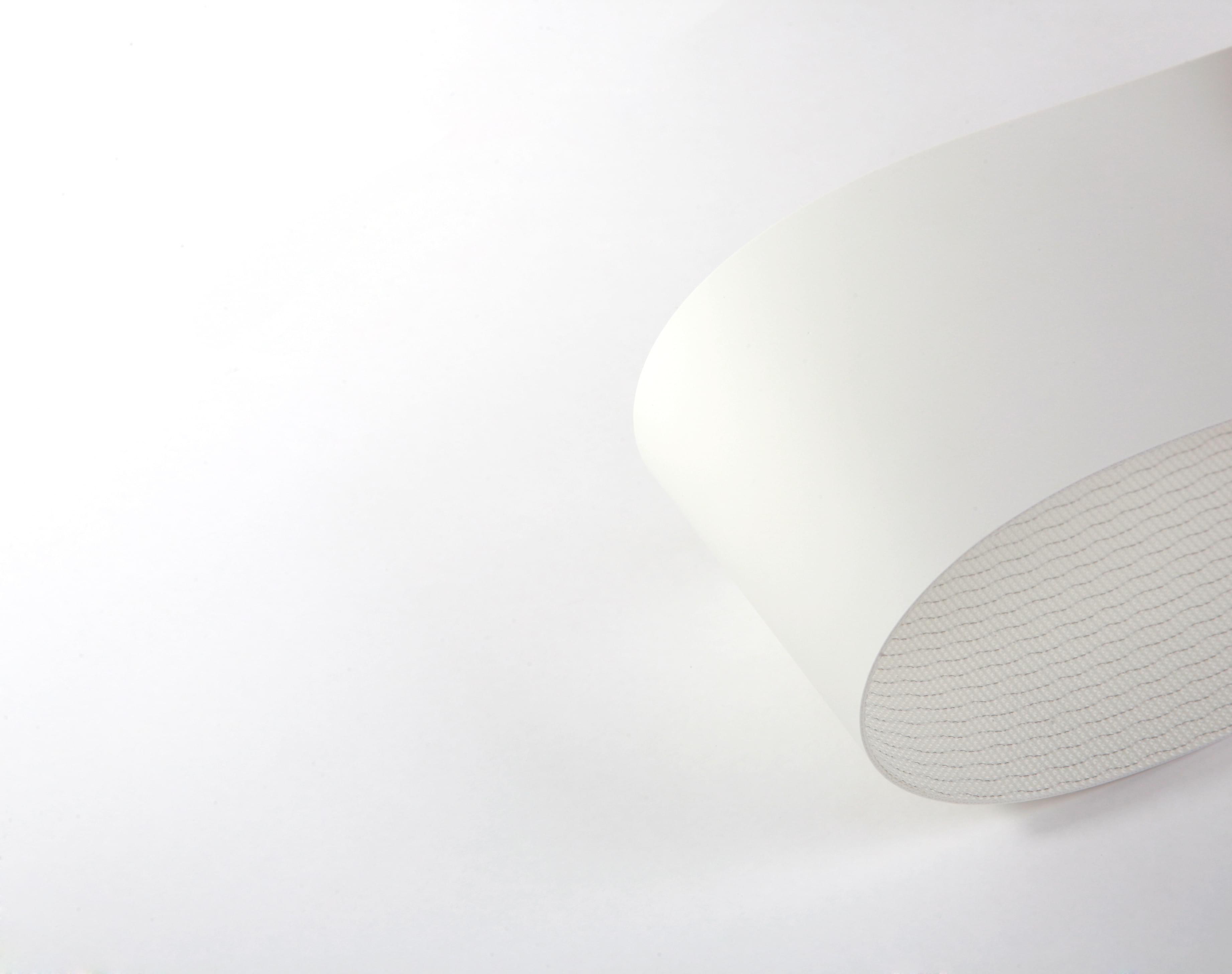correia Poliuretano (PU) (poliuretano) branco duas lonas superfície fosca