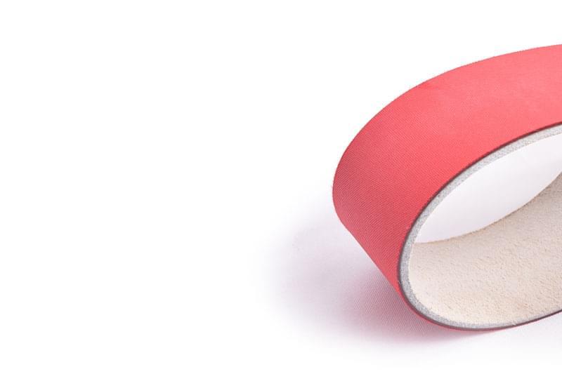 correia transmissão plana poliamida (nylon) couro/tecido tipo LT 28