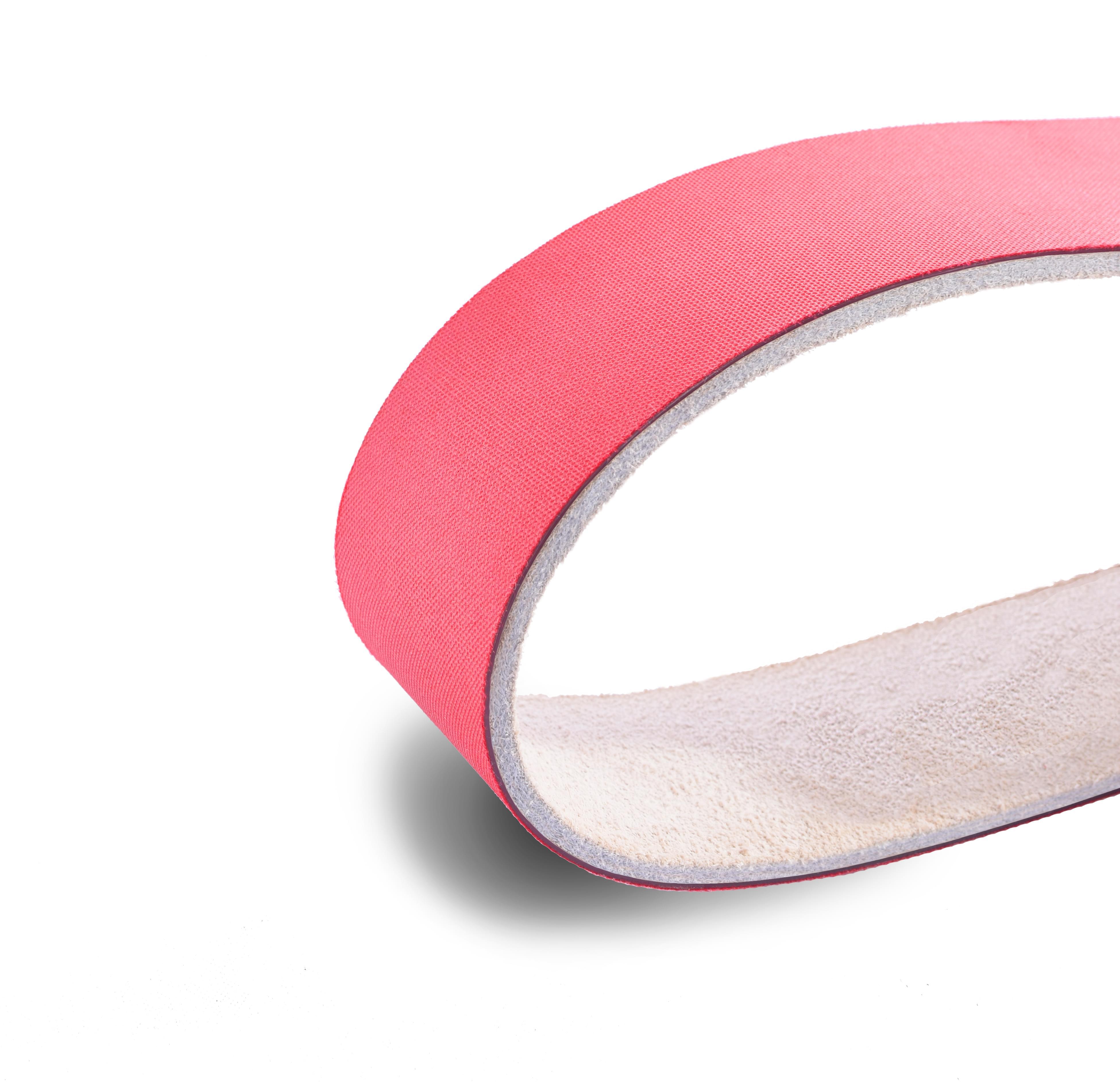 correia transmissão plana poliamida (nylon) couro/tecido tipo LT 14